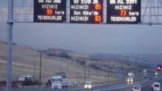 2017 Trafik Hız Limitleri