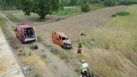Gediz'de Trafik Kazası : 2 Ölü 1 Yaralı