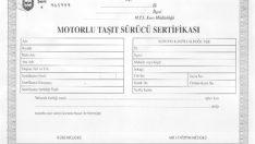 Sürücü Sertifikası İle Araç Kullanmanın Cezası