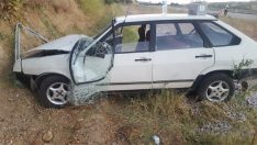 Kütahya'nın Gediz ilçesinde trafik kazası: 2 yaralı