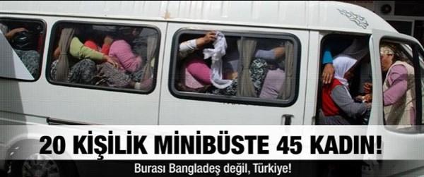 Fazla Yolcu Taşıma Cezası