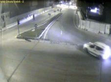 Adana Polis Okulu Önü Trafik Kazası Mobese Görüntüsü 2018