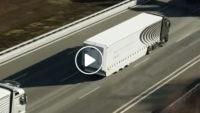 Mercedes Benz Kamyon Otopilot Testi