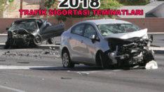 Trafik Sigortası Limitleri 2018 Yılında Ne Kadar?