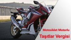 Motosiklet Motorlu Taşıtlar Vergisi Ne Kadar?